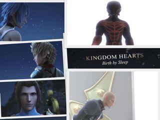 kingdom hearts birth by sleep manga español