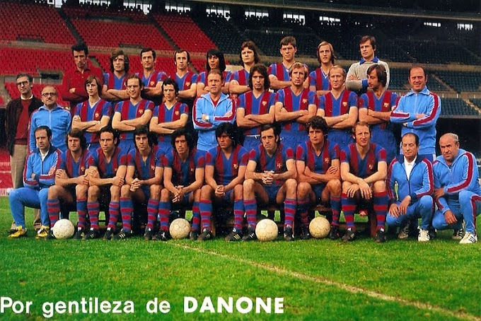F.C BARCELONA 1974-75. By Konga.