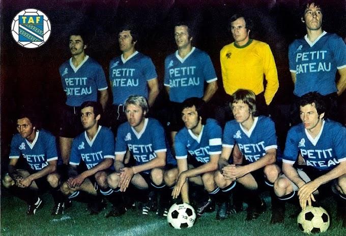 TROYES AUBE FOOTBALL 1974-75. By Ageducatifs.