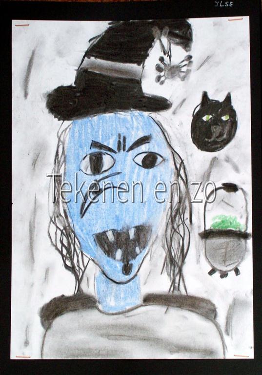 Tekenen En Zo Halloween.Tekenen En Zo Lelijke Heksen