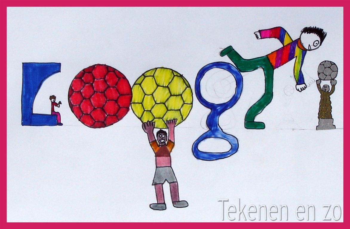 Tekenen en zo doodle for google i love football for Google 3d tekenen