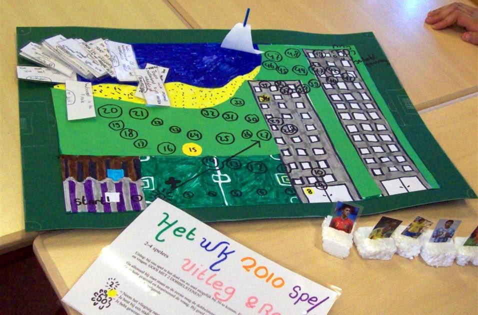 Kids Artists Design Your Own Board Game