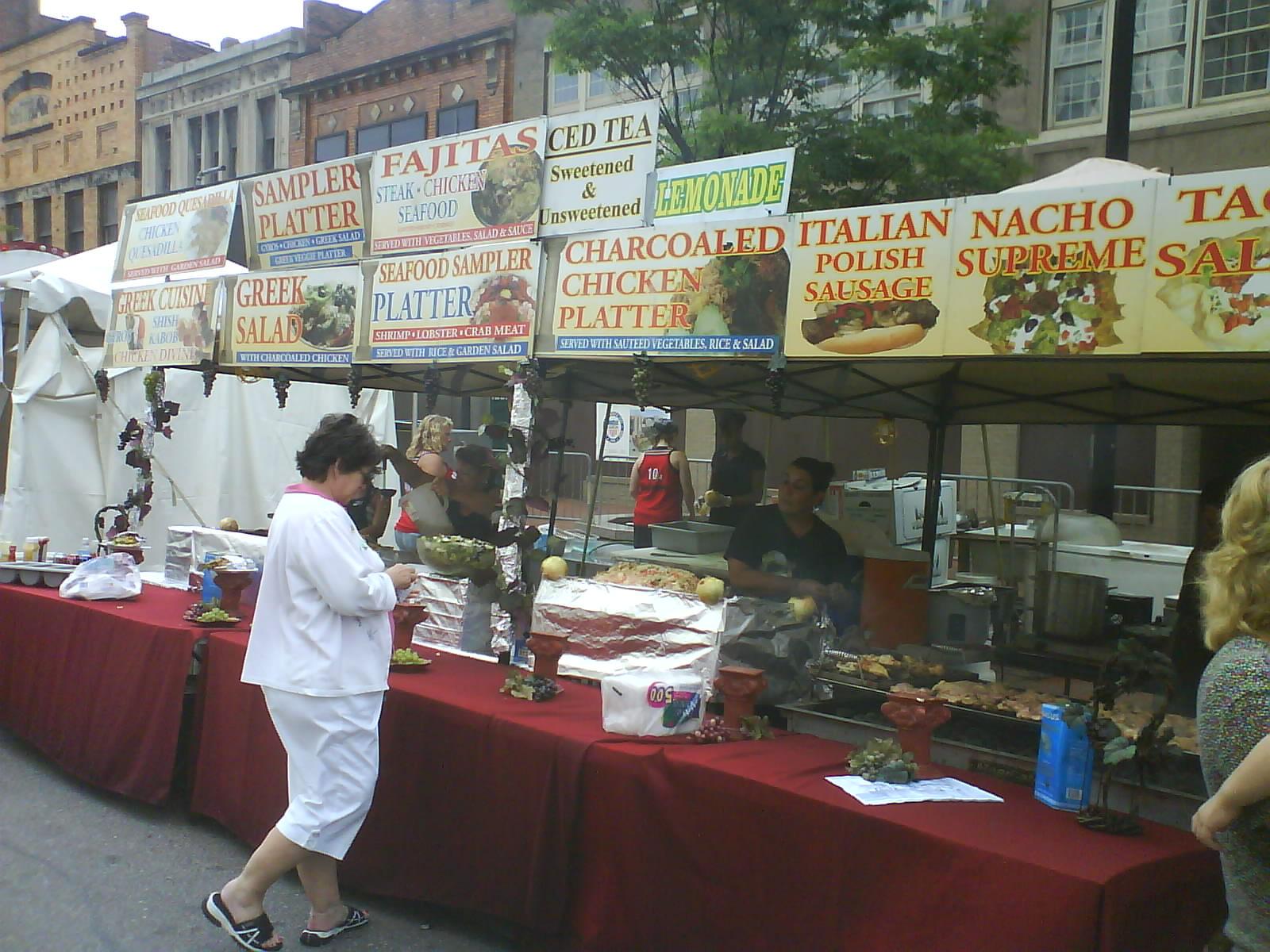 Akron Italian Festival Food
