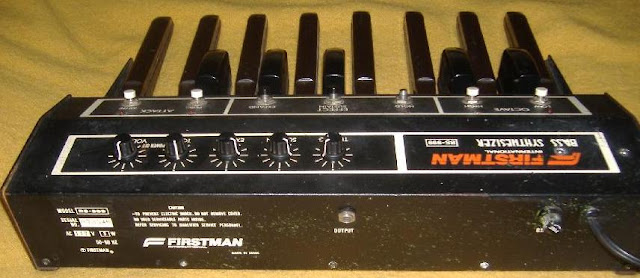 matrixsynth firstman bs 999 bass synth pedals. Black Bedroom Furniture Sets. Home Design Ideas