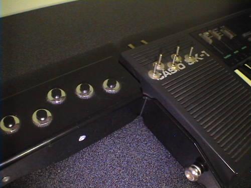 MATRIXSYNTH: Circuit Bent Casio SK-1 Keytar