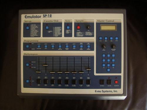 MATRIXSYNTH: E-mu Emulator SP12 turbo sampling drummachine