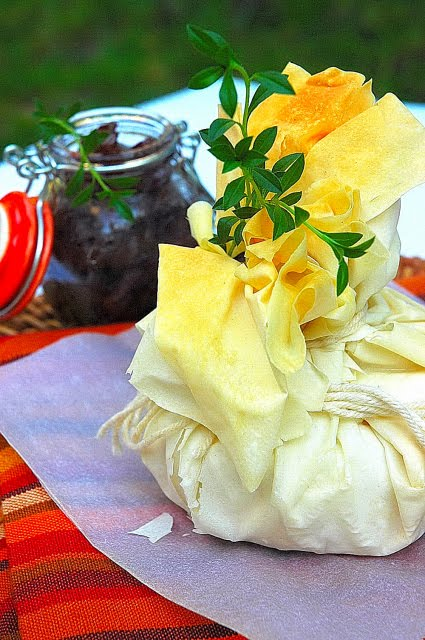Phyllo Baked Camembert