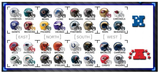 American Football Conference Teams