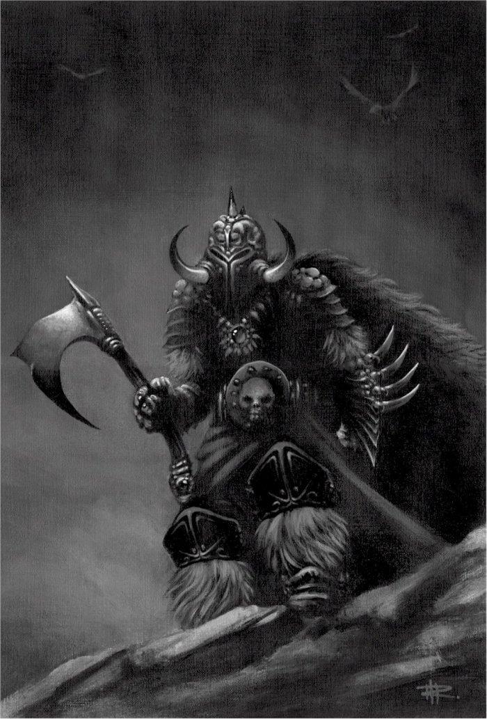 Warriors In Art Death Dealer By Mike Rauw