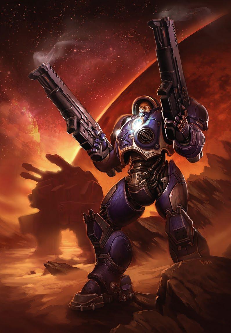starcraft space marine artwork - photo #10