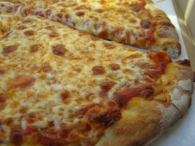 pizza looks good too....maybe it is worth talking crazy, but a beatdown?....not so much