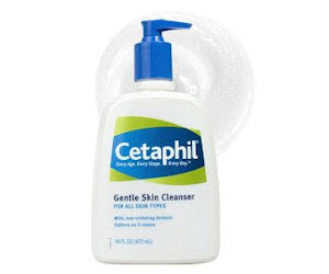 FREE Cetaphil skincare sample.