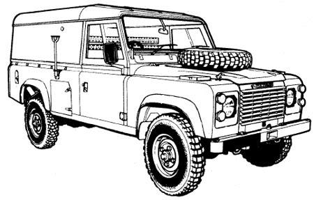 cool car: Military Land Rover 110 Manuals Parts Catalogue