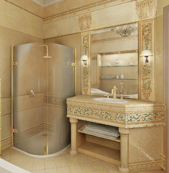 Home Design: Classic Bathroom