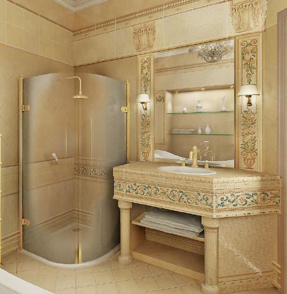 Home Design Classic Bathroom