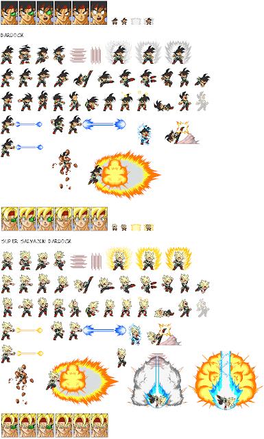 Ultimate Dbz Naruto Sprite Movie Fan Club New Sprite Sheets