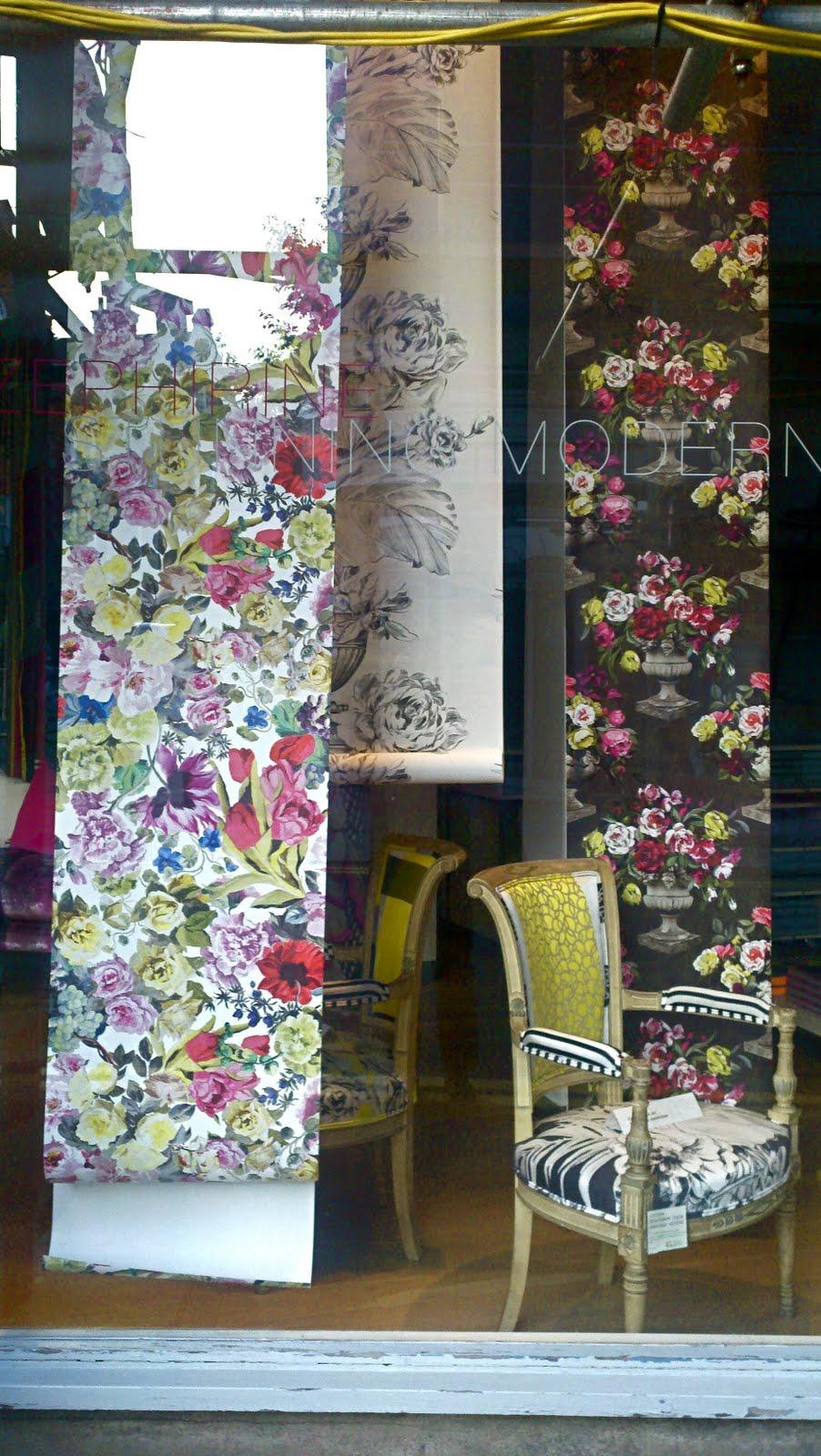 designer sofa bord flower