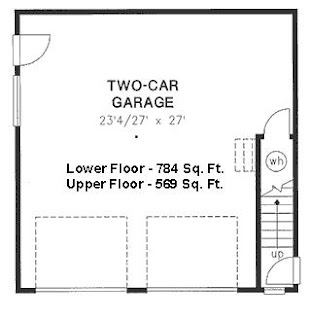 2 Bedroom Apartment Over Garage Plans