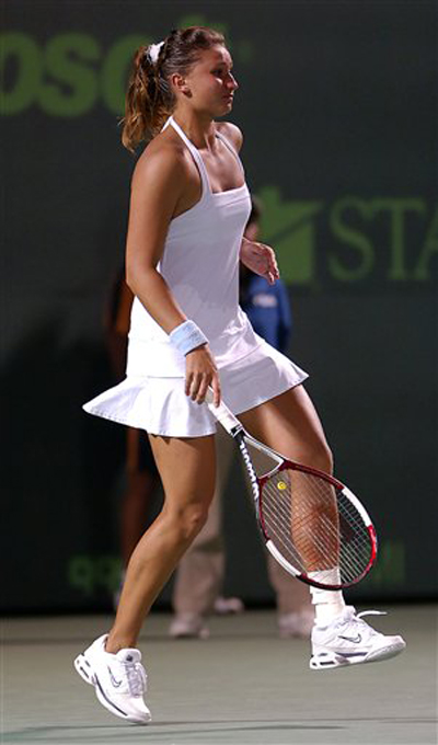 Anna ivanovic is hot sexy on court impressions part 2 of 6 - 3 8