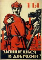 Resultado de imagen de carteles revolucion rusa