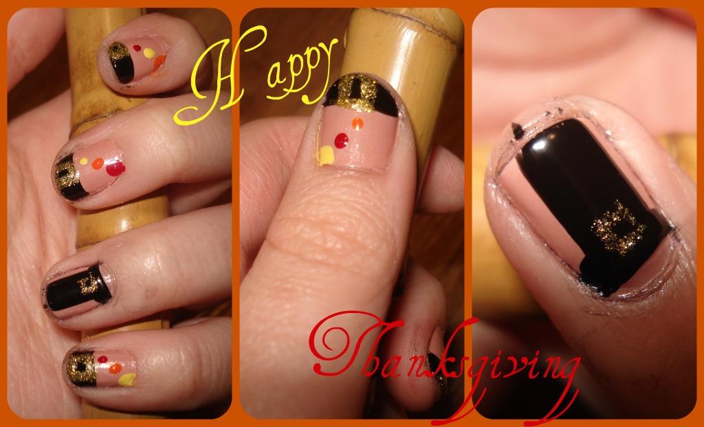 Cnpinky1: Thanksgiving Nail