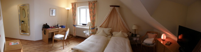 Hochzeitssuite im Hotel Oberambach