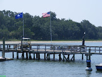 Buck Island private pier