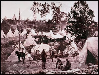 City Point hospital tents