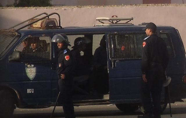 Resultado de imagen de polica marroqui en el sahara