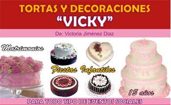 Tortas y Decoraciones Vicky