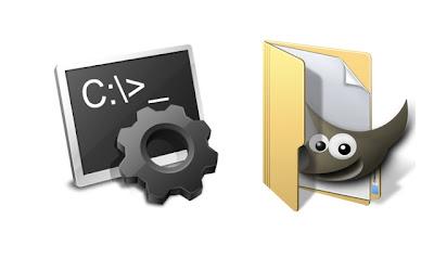 Use Windows Batch File to Delete Hidden GIMP Thumbnails
