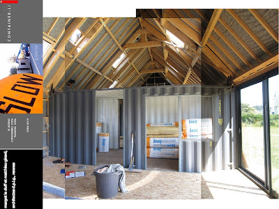 le duff et girard maison de vacances en containers. Black Bedroom Furniture Sets. Home Design Ideas
