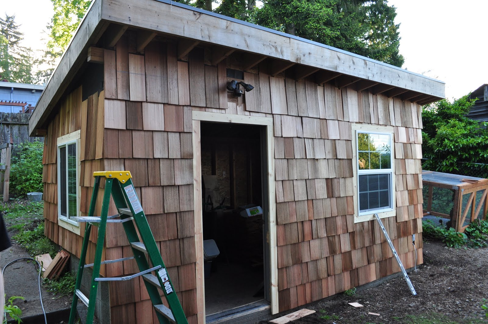 Chris and Sonja - The Sweet Seattle Life: The Chicken Coop - Cedar