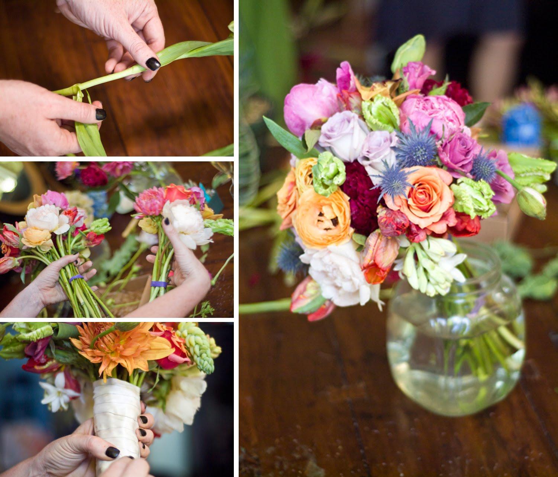 The Artful Bride Wedding Blog Diy Bridal Bouquet