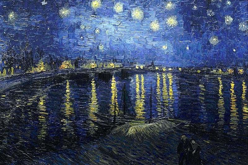 Noche+estrellada+sobre+el+R%C3%B3dano - Lo que no sabías sobre la Noche Estrellada de Van Gogh
