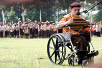 Disabled Scouts Jamboree