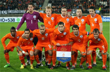 """Oranje"" Dutch Football Team"