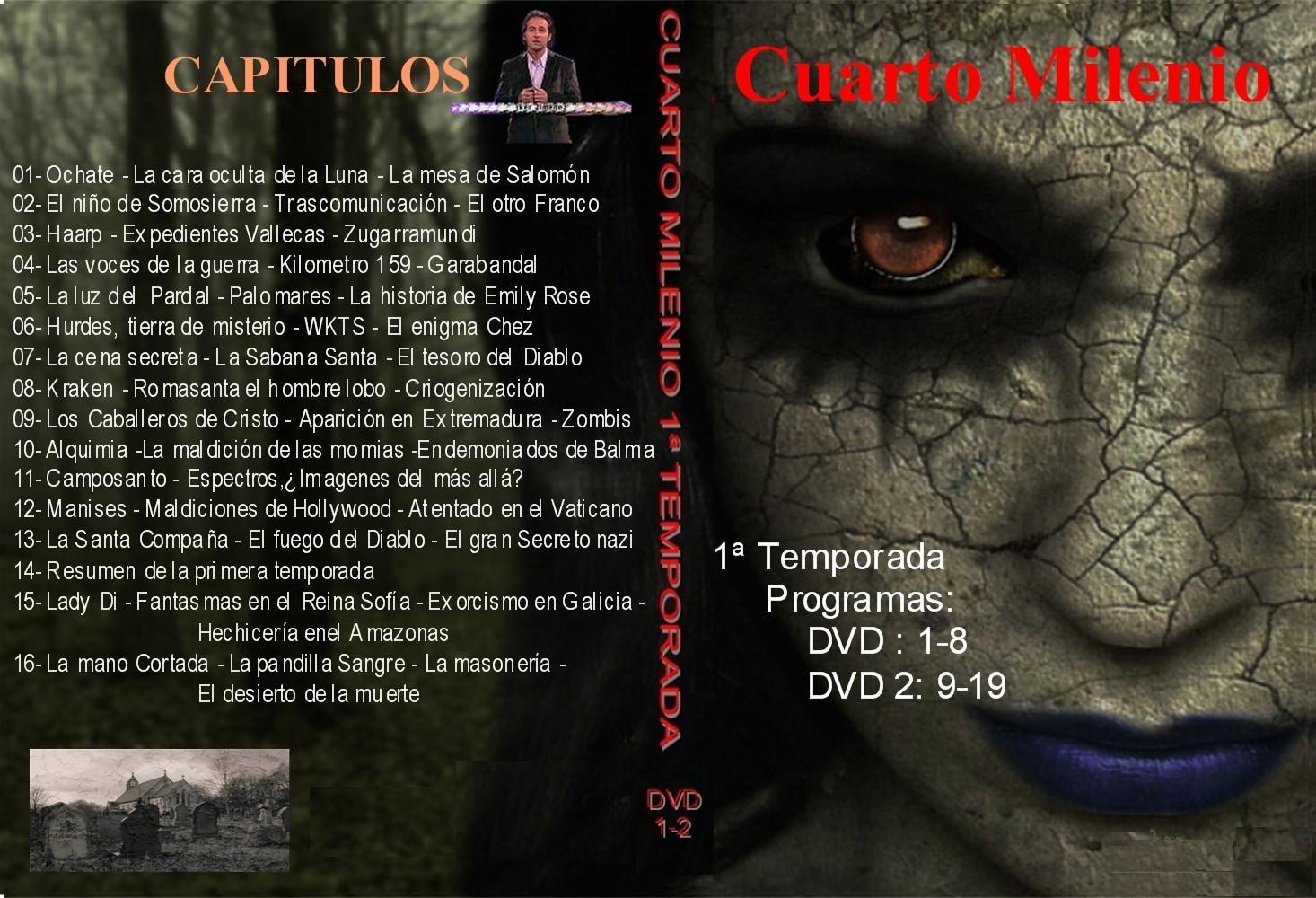 LAS CLAVES DEL MISTERIO: CUARTO MILENIO 1 ª temporada
