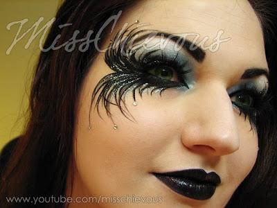 Julia Graf Fallen Angel Halloween Makeup