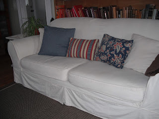 Couch Potato Slipcovers Ugly Plaid Couches Before And After