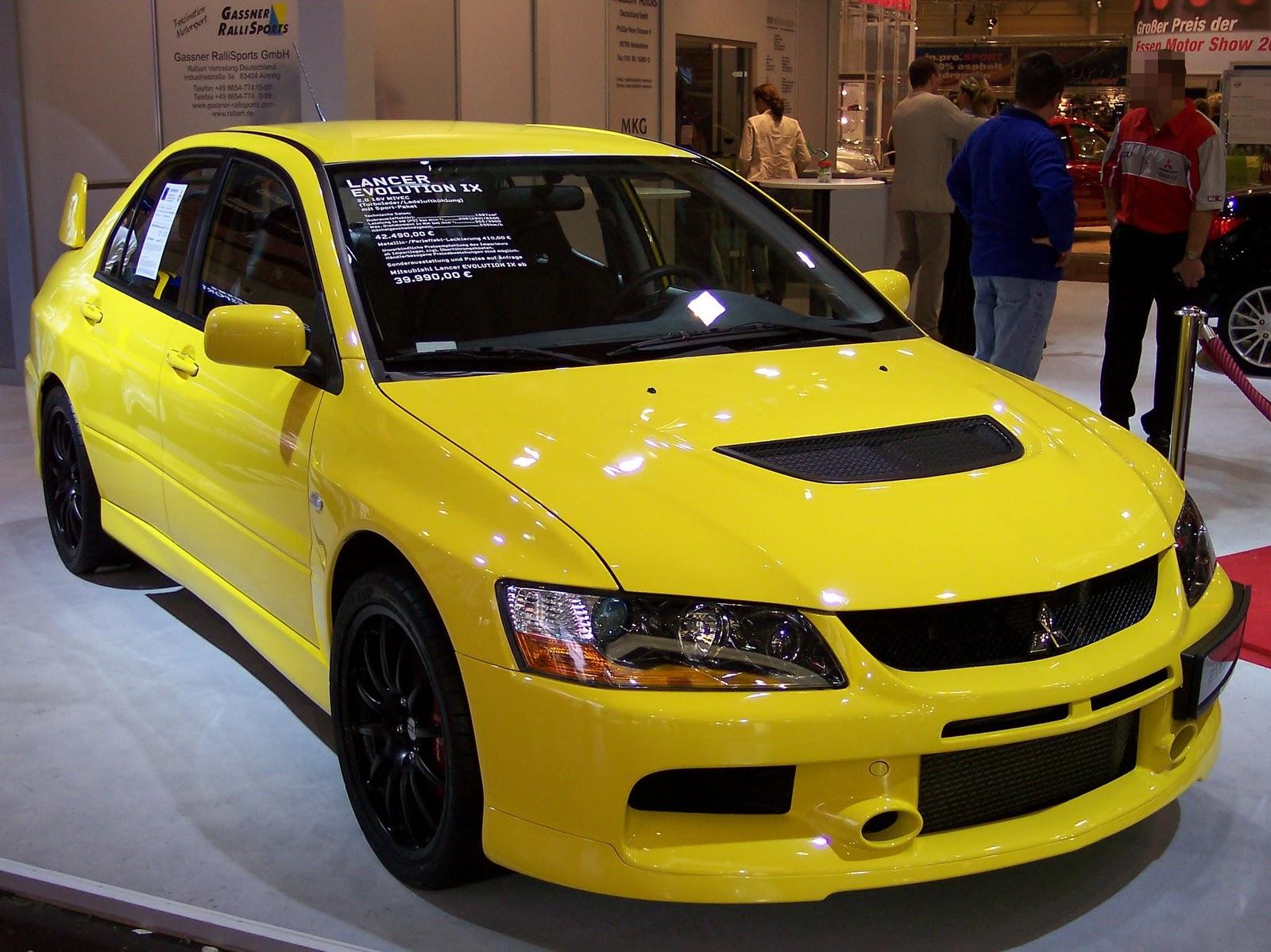 Fast And Furious 2 Mitsubishi Lancer Evolution