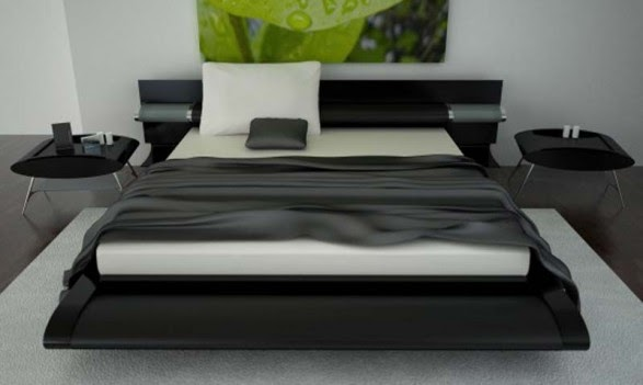 My home design black bedroom furniture 2011 - Ultra contemporary bedroom furniture ...