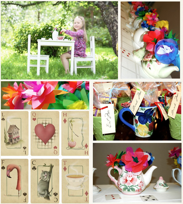 Bnute Productions: Mad Hatter Tea Party Decoration And