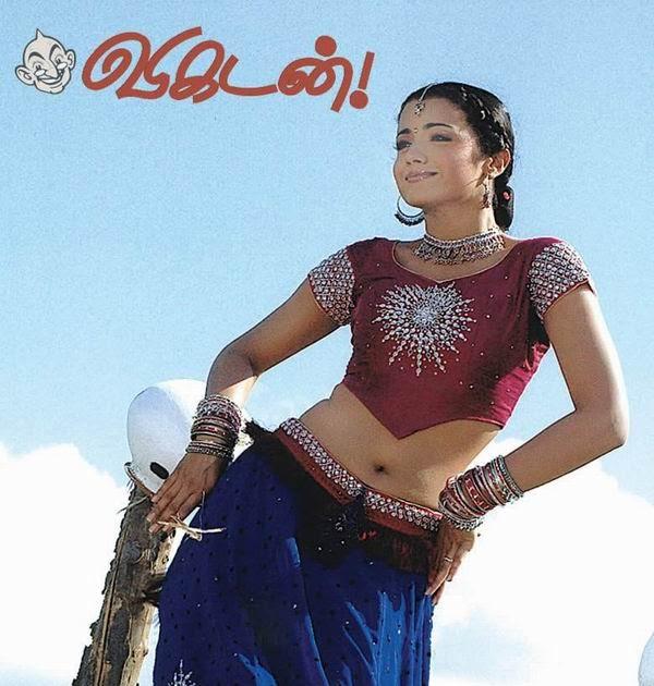 Masala Actress: Trisha Navel Show