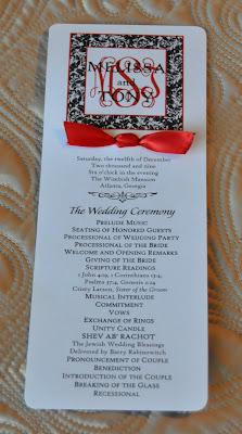 red wedding programs muco tadkanews co