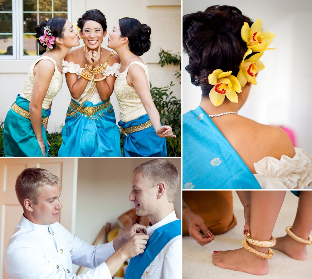 Cambodian Wedding Hairstyles: Style & Sensibility: Alicia And Matt