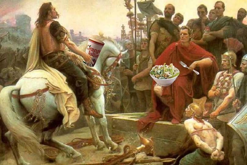 Composing Lola: Orange Julius Caesar Salad