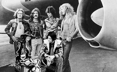 Led Zeppelin | white stripe