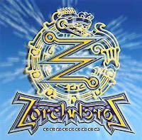 La singular portada del álbum de 1975 Ouroboros del grupo Zorch