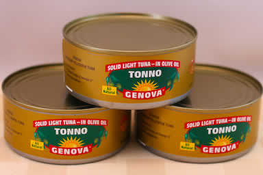 Kalyn's Kitchen Picks:  Genova Tonno Tuna Packed in Olive Oil found on KalynsKitchen.com